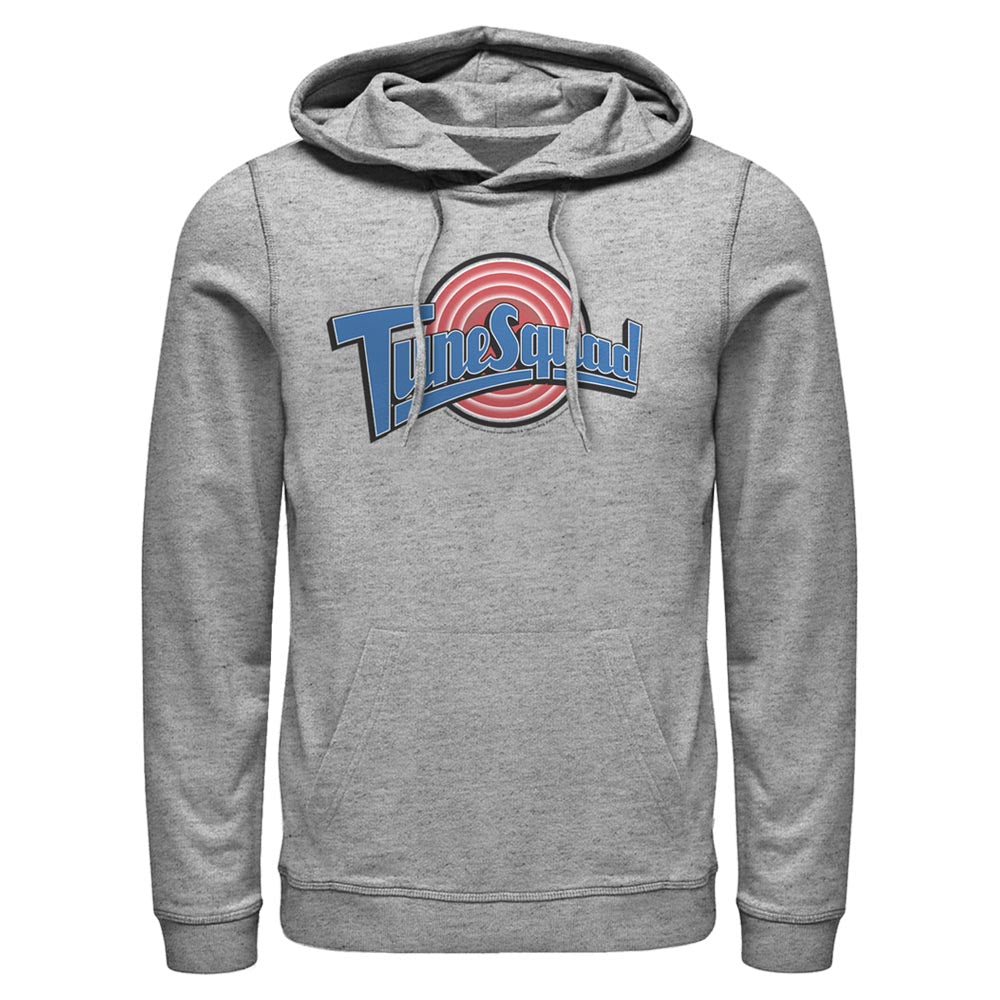 Grey Heather Tune Squad Logo Hoodie from Space Jam Image