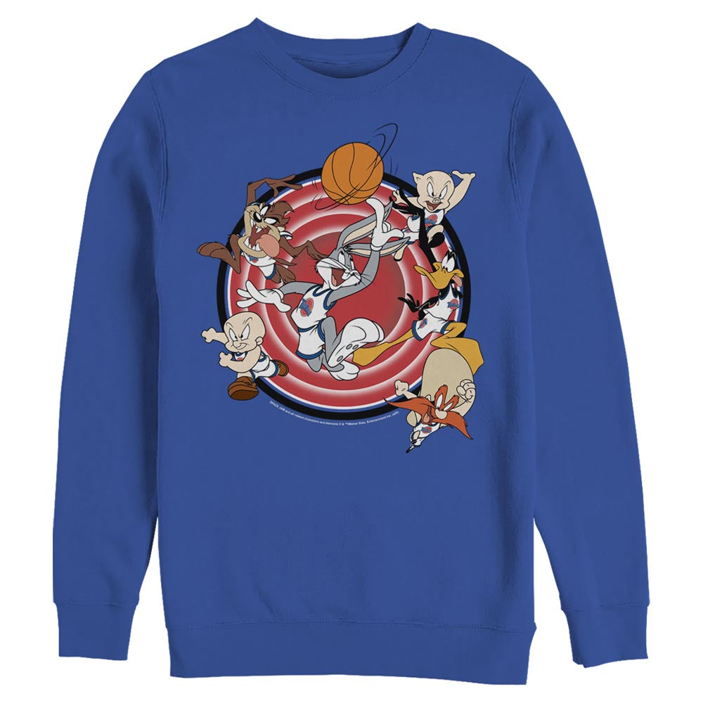 Tune Squad Leaping Crew Sweatshirt from Space Jam