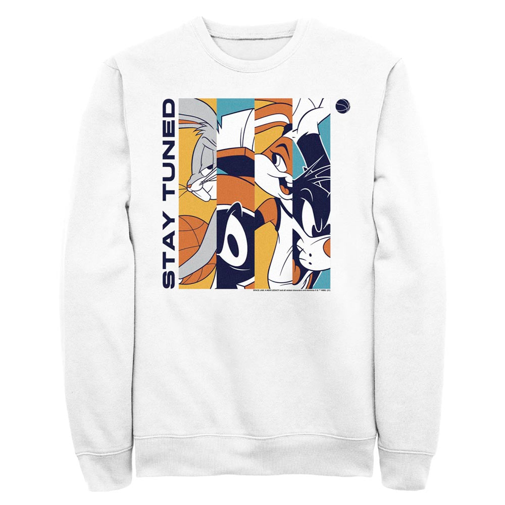 Tune Squad Stay Tuned Color Crew Sweatshirt from Space Jam: A New Legacy