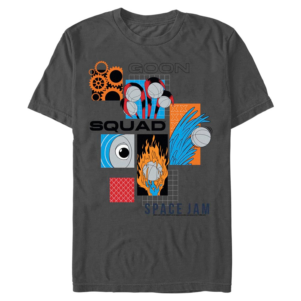 Goon Squad Abstract T-Shirt from Space Jam: A New Legacy