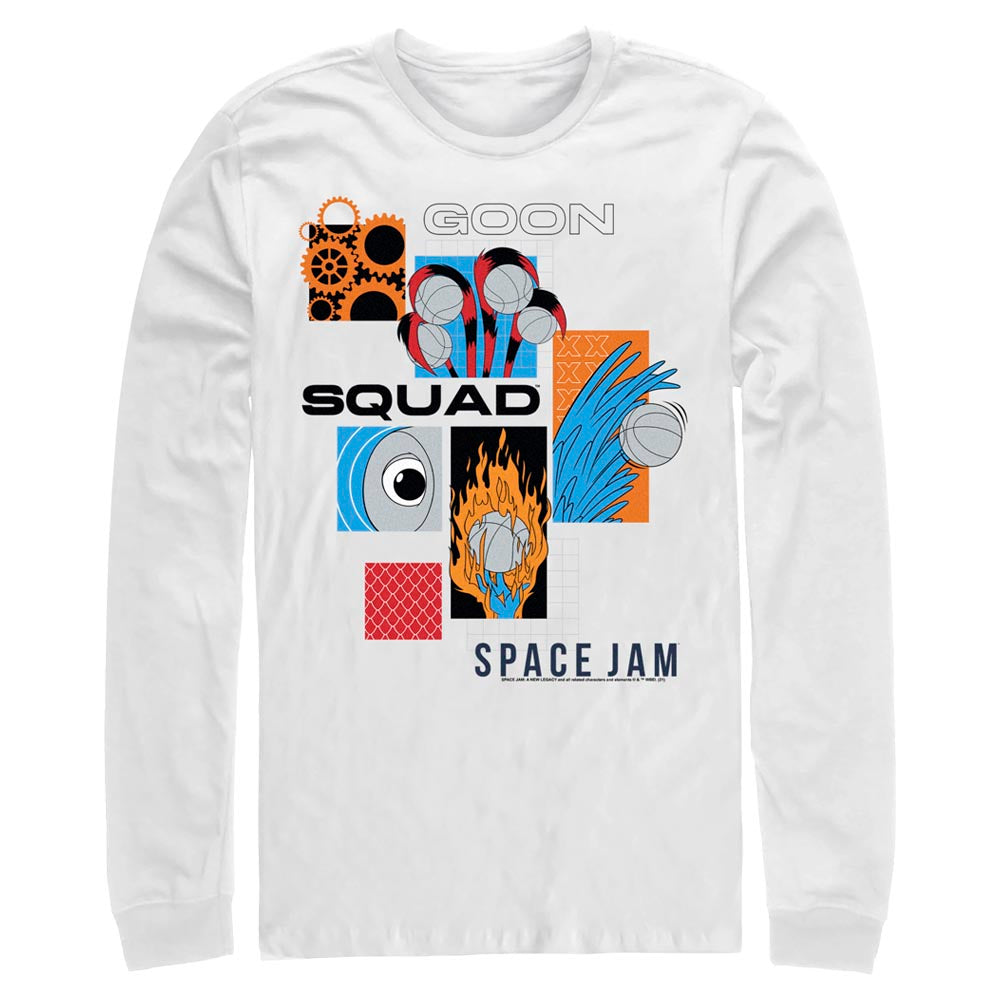 Goon Squad Abstract Long Sleeve Tee from Space Jam: A New Legacy