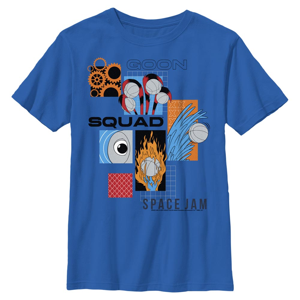Goon Squad Abstract  Kids' T-Shirt from Space Jam: A New Legacy