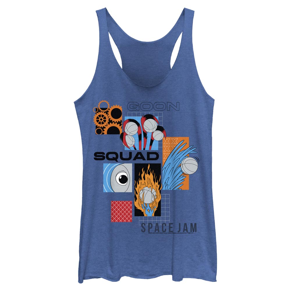 Goon Squad Abstract Women's Racerback Tank from Space Jam: A New Legacy
