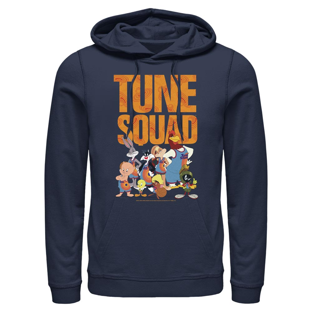 Navy Tune Squad Team Collage Hoodie from Space Jam: A New Legacy Image