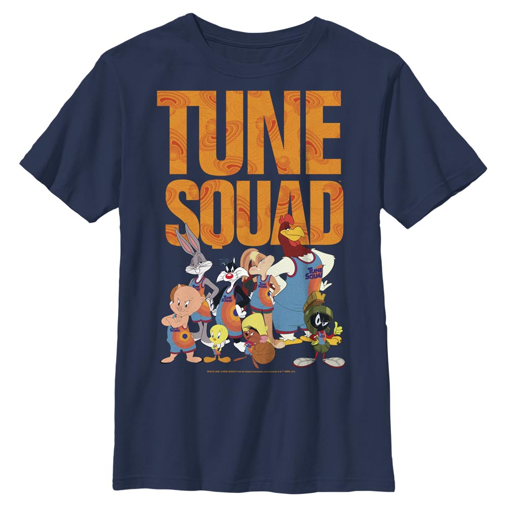 Tune Squad Team Collage Kids' T-Shirt from Space Jam: A New Legacy