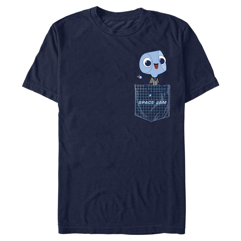 Navy Referee Pocket T-Shirt from Space Jam: A New Legacy Image