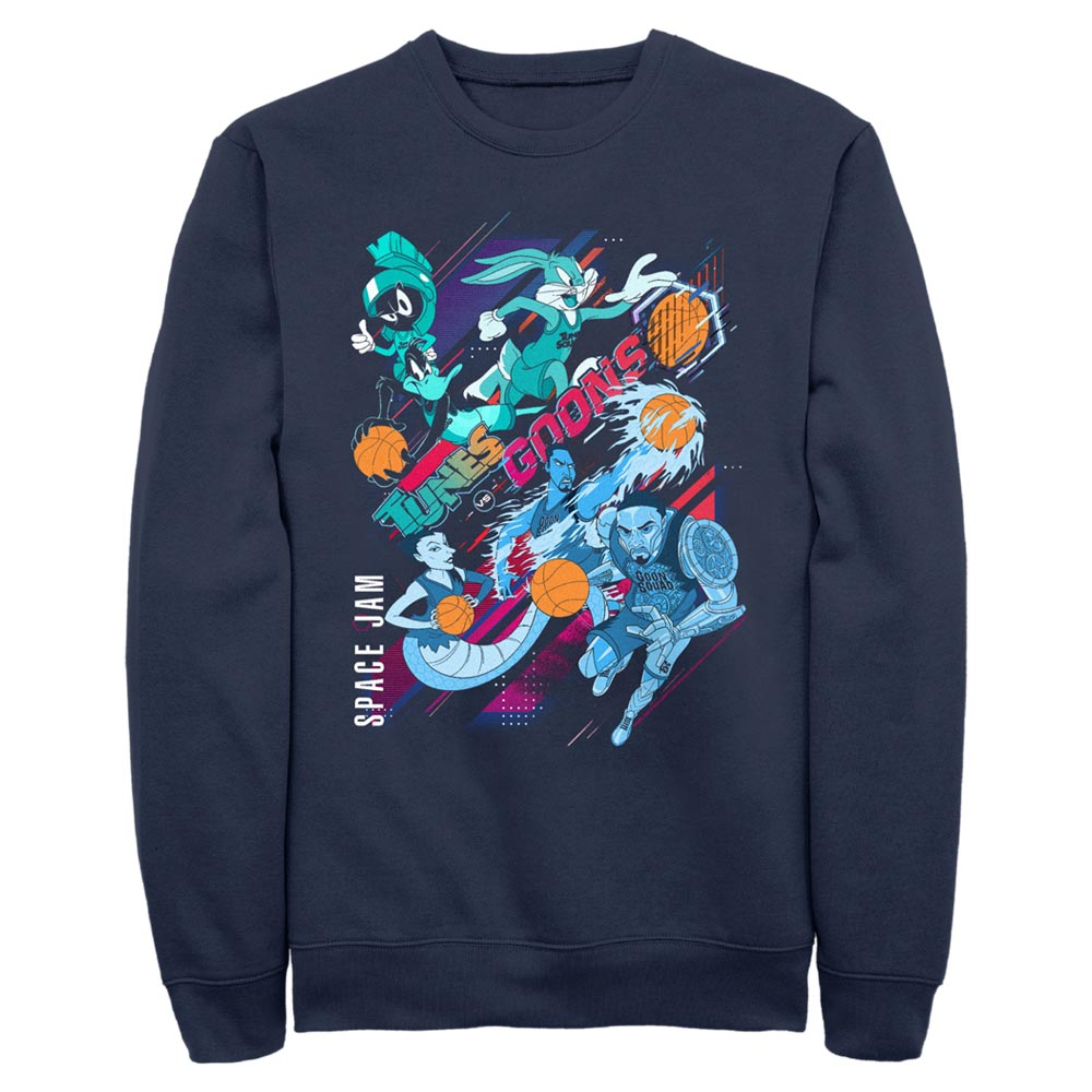 Tunes and Goons Crew Sweatshirt from Space Jam: A New Legacy