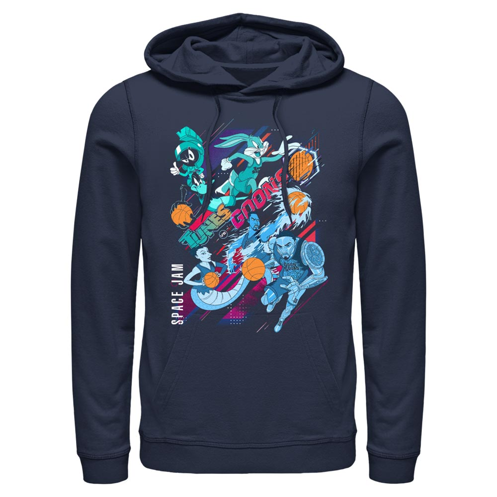 Navy Tunes and Goons Hoodie from Space Jam: A New Legacy Image