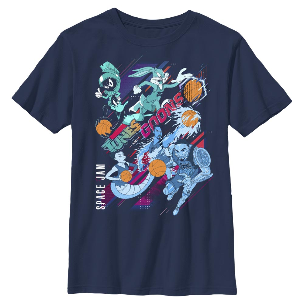 Tunes and Goons Kids' T-Shirt from Space Jam: A New Legacy