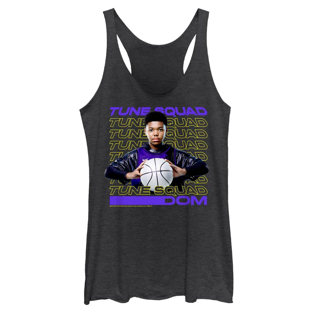 Dom Tune Squad Women's Racerback Tank from Space Jam: A New Legacy