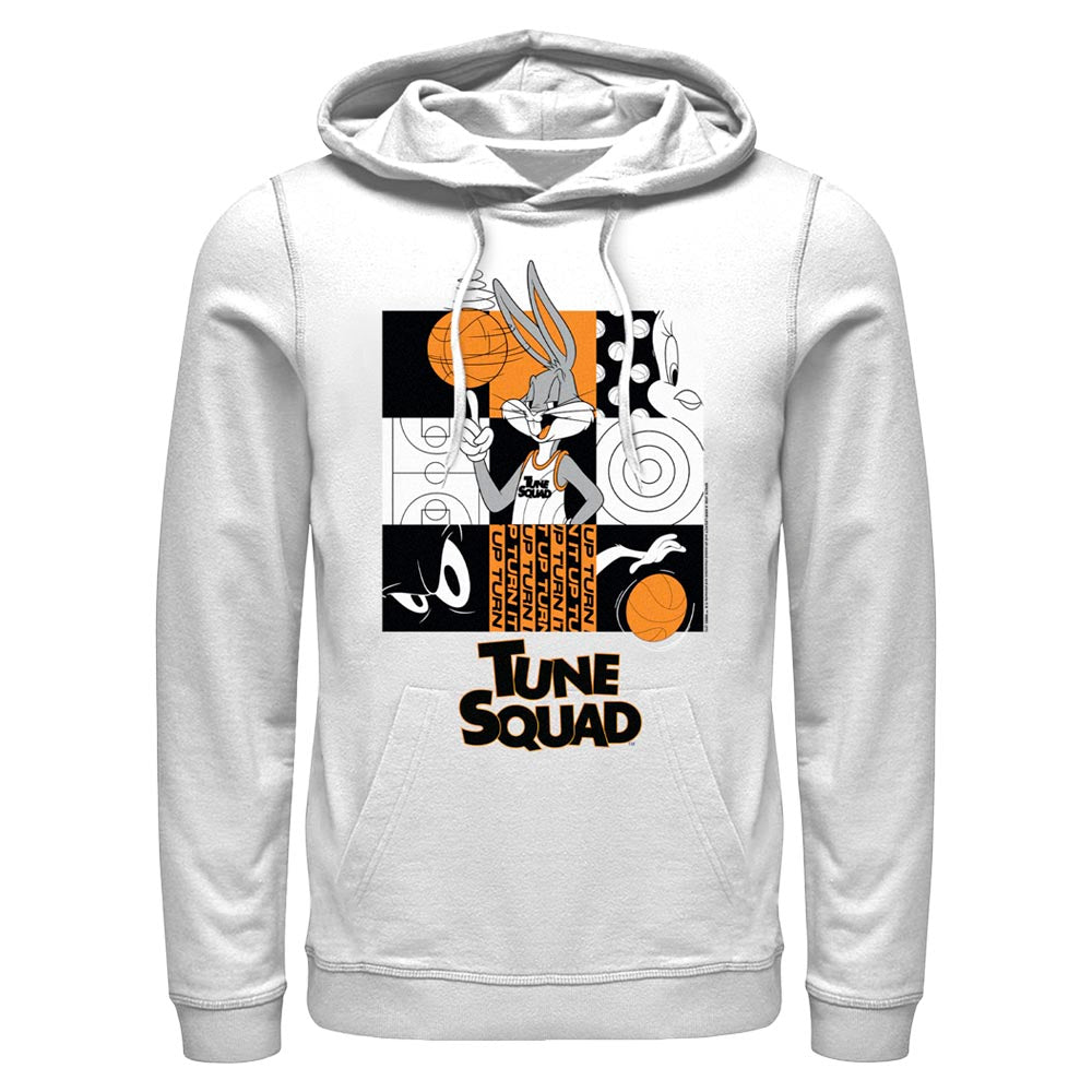 White Bugs Bunny Tune Squad Hoodie from Space Jam: A New Legacy Image