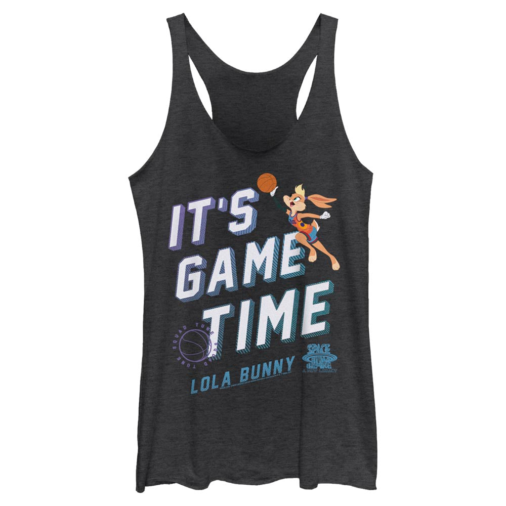 Lola Bunny It's Game Time Women's Racerback Tank from Space Jam: A New Legacy