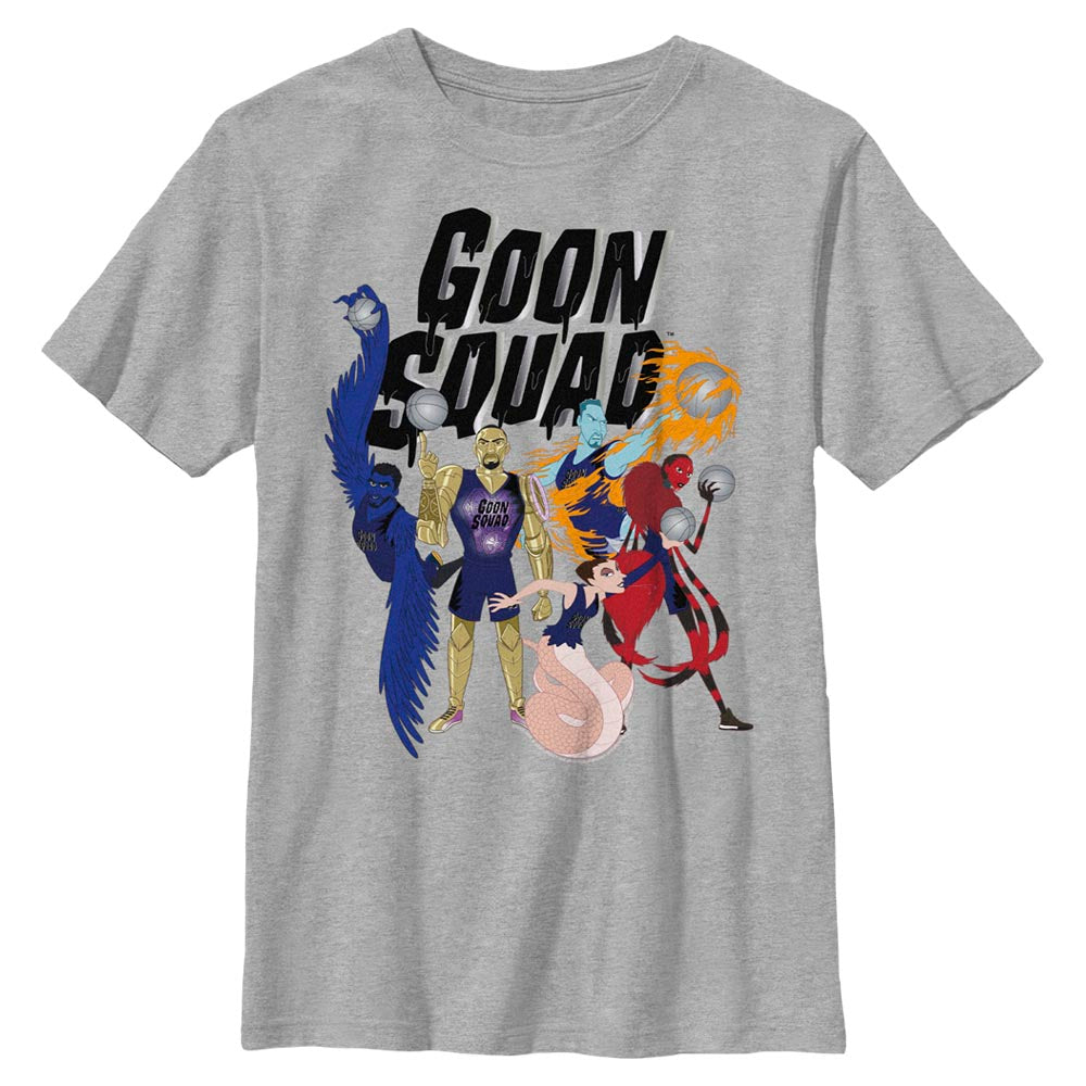 Goon Squad Animated Kids' T-Shirt from Space Jam: A New Legacy