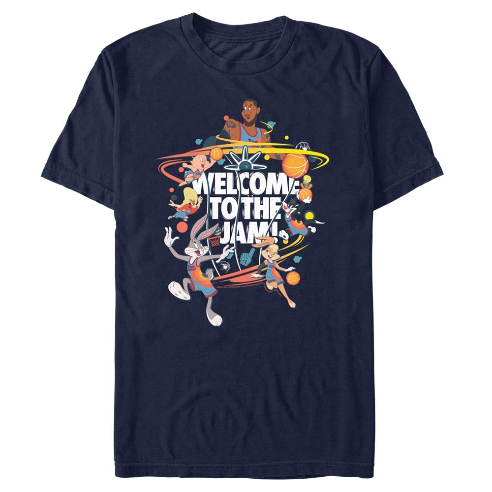 Welcome to the Jam Team Tune Squad T-Shirt from Space Jam: A New Legacy