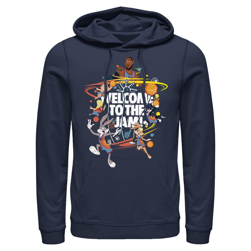 Welcome to the Jam Team Tune Squad Hoodie from Space Jam: A New Legacy
