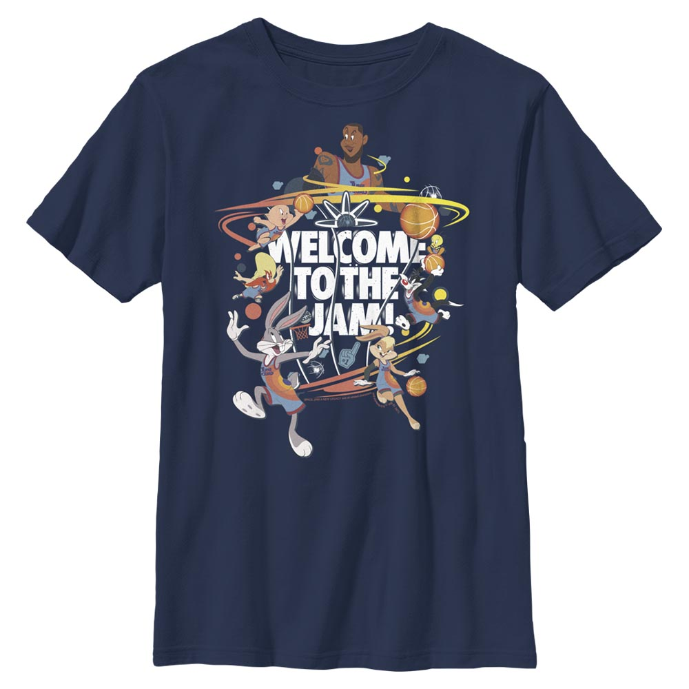 Welcome to the Jam Team Tune Squad Kids' T-Shirt from Space Jam: A New Legacy