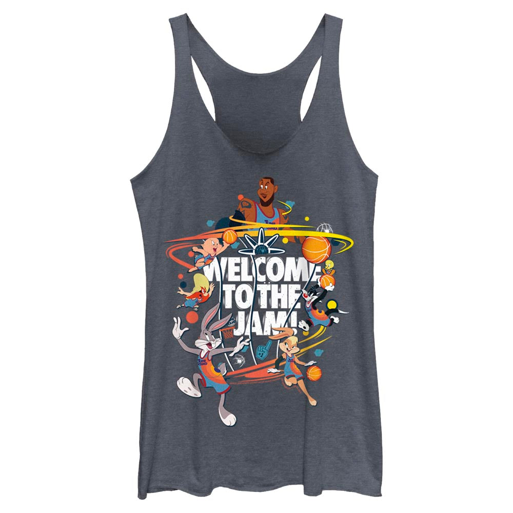 Welcome to the Jam Team Tune Squad Women's Racerback Tank from Space Jam: A New Legacy