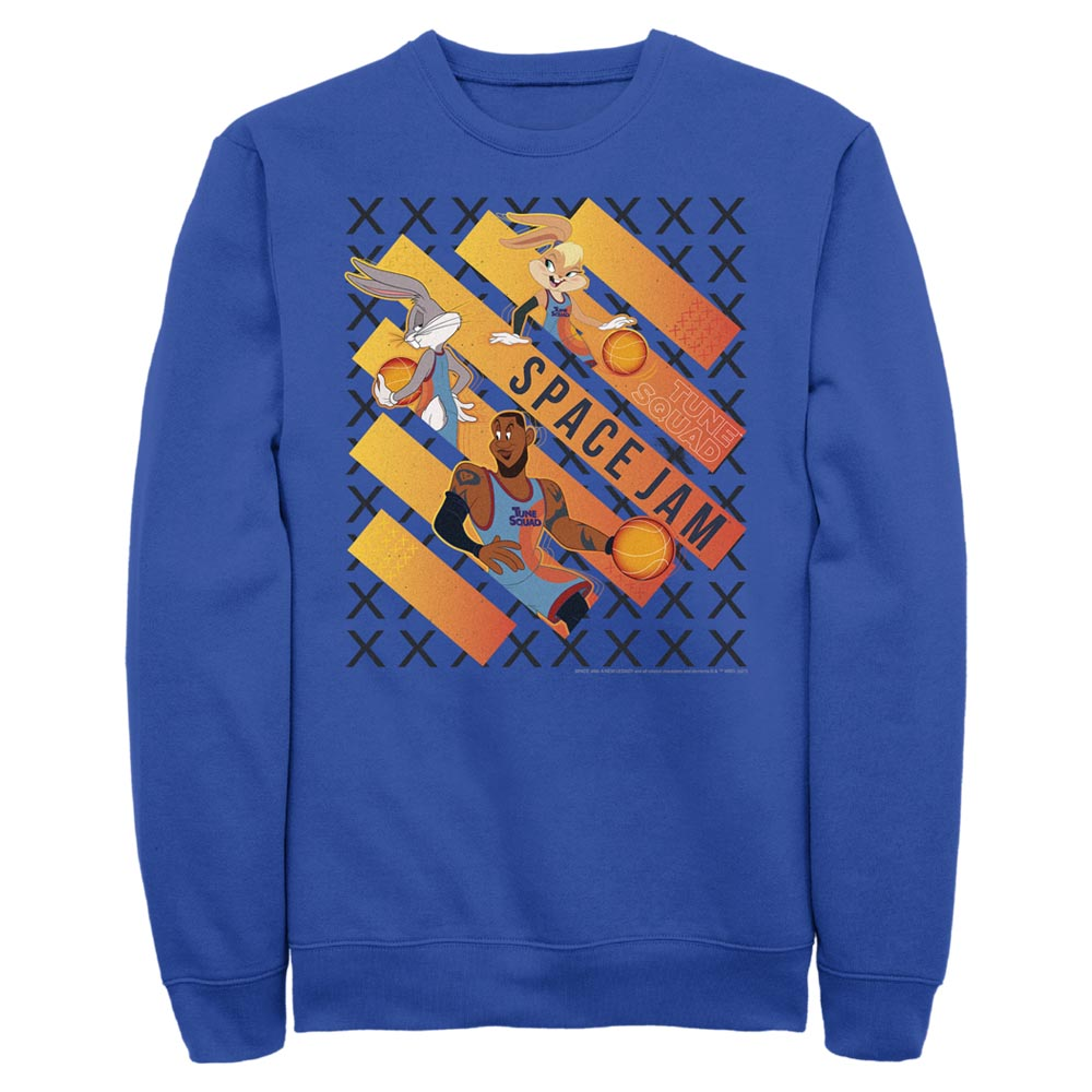 Space Jam Game Time Crew Sweatshirt from Space Jam: A New Legacy