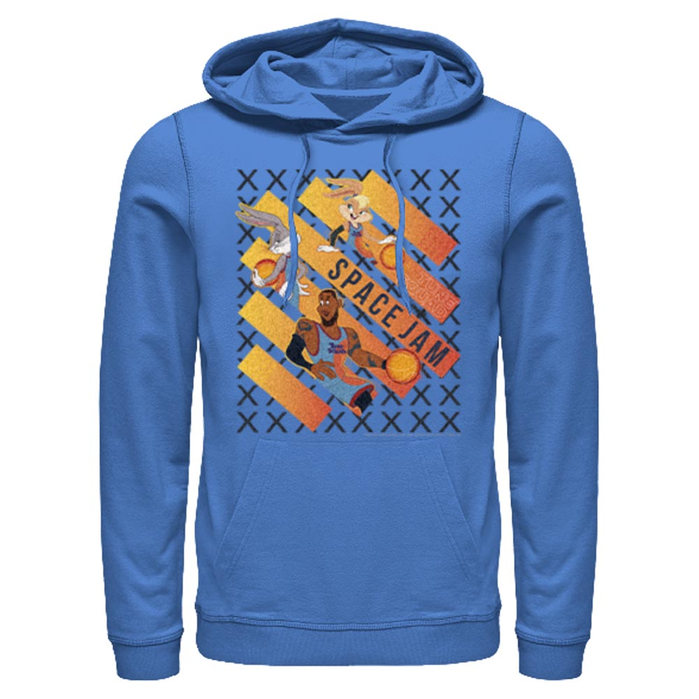 Royal Blue Space Jam Game Time Hoodie from Space Jam: A New Legacy Image