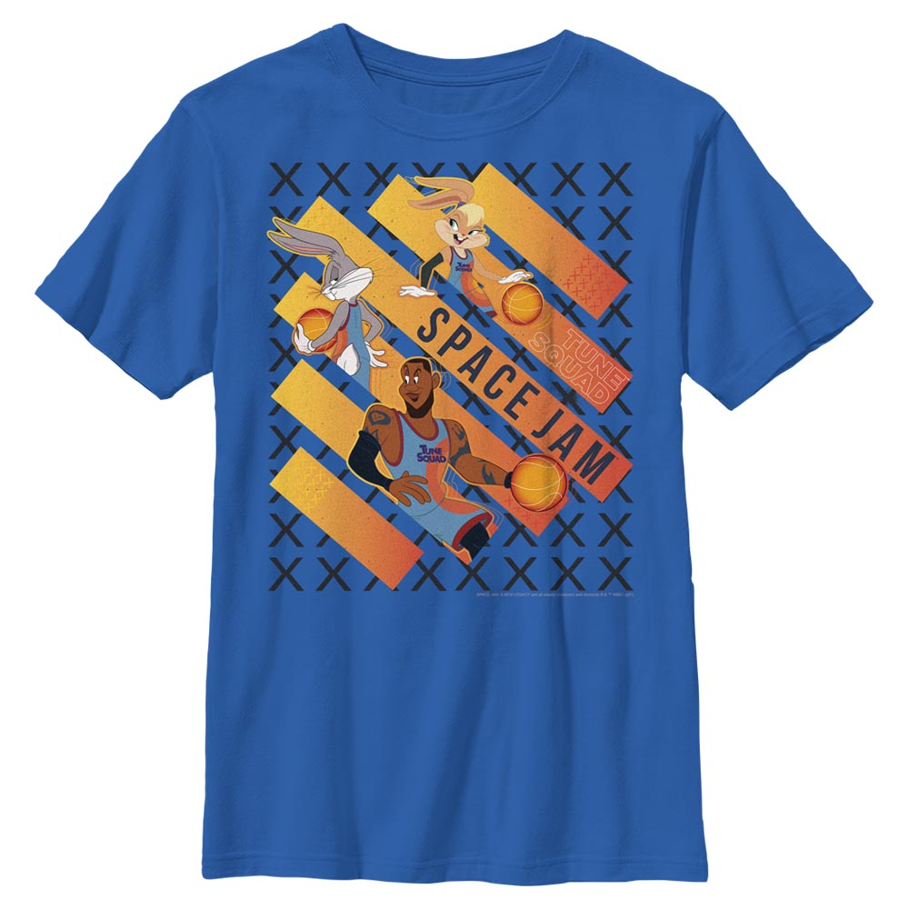 Royal Blue Space Jam Game Time Kids' T-Shirt from Space Jam: A New Legacy Image