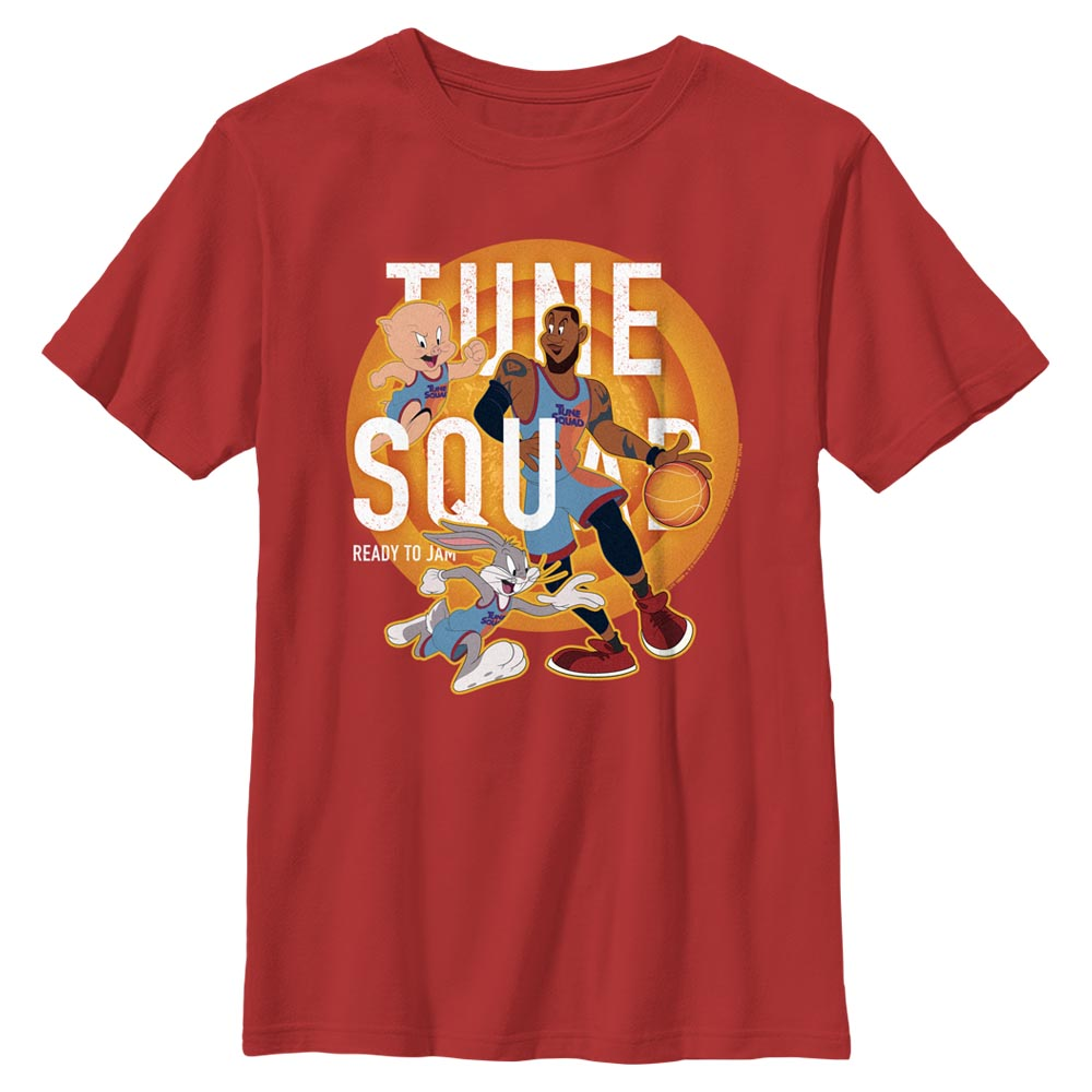 Tune Squad Let's Play Kids' T-Shirt from Space Jam: A New Legacy
