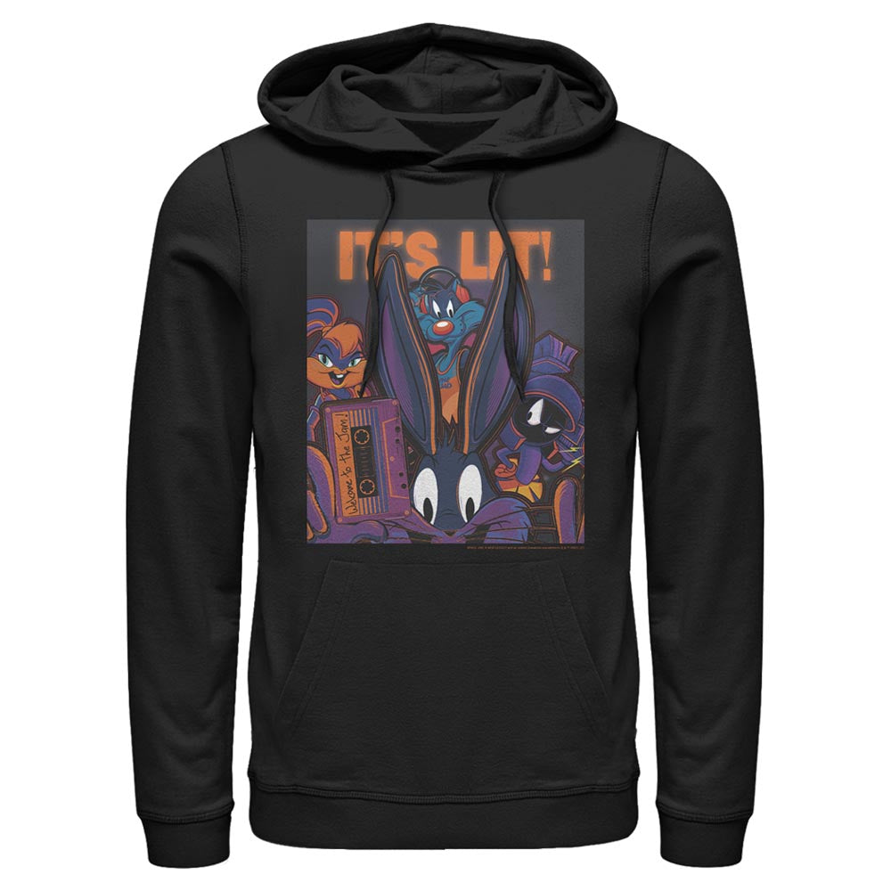 Black Tune Squad It's Lit Hoodie from Space Jam: A New Legacy Image