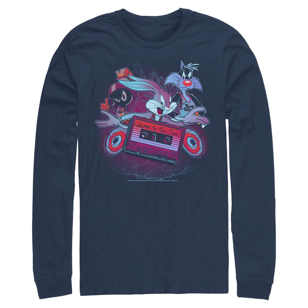 Welcome to the Jam Long Sleeve Tee from Space Jam: A New Legacy