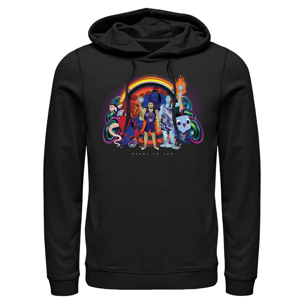 Black Goon Squad Group Photo Hoodie from Space Jam: A New Legacy Image