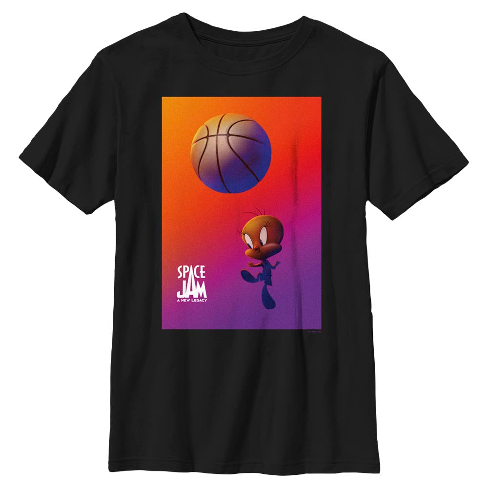 Tweety Bird Kids' T-Shirt from Space Jam: A New Legacy
