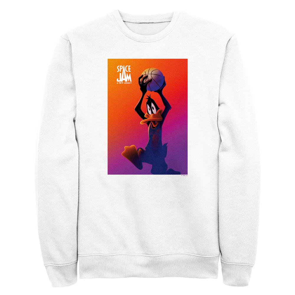 Daffy Duck Crew Sweatshirt from Space Jam: A New Legacy