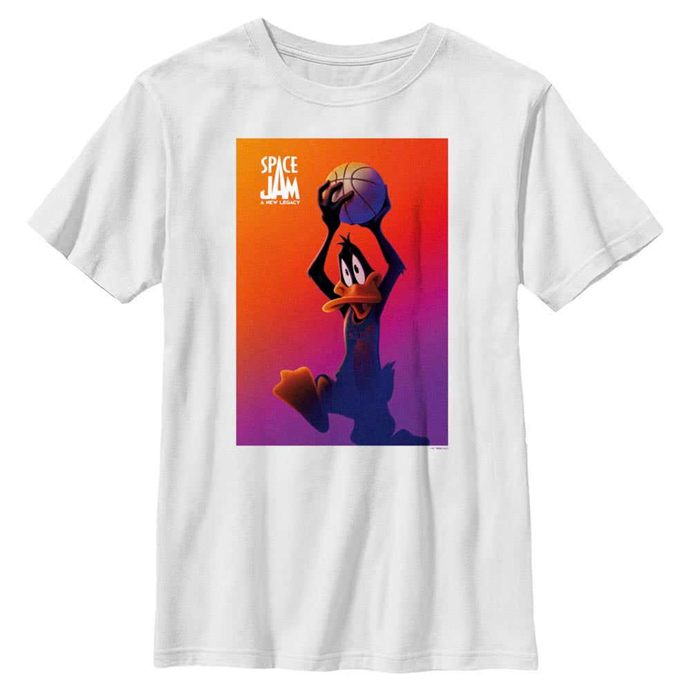 Daffy Duck Kids' T-Shirt from Space Jam: A New Legacy