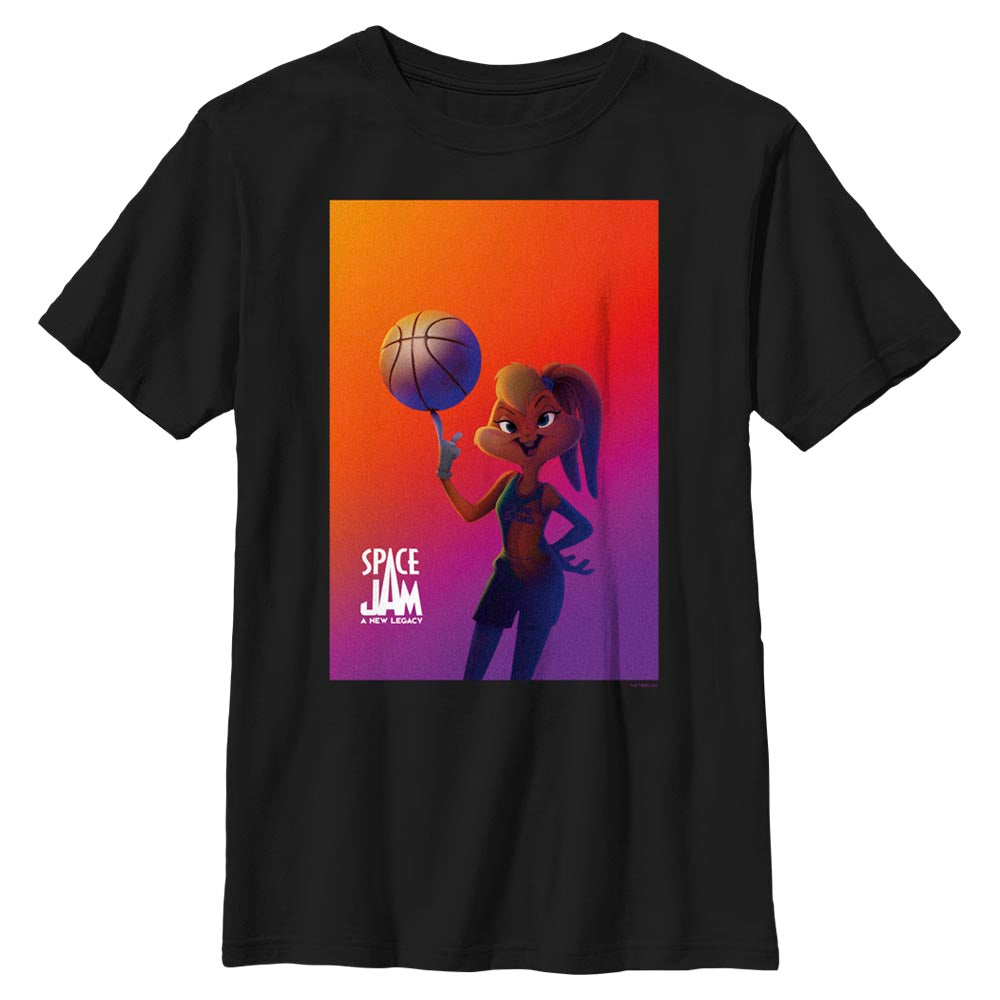 Lola Bunny Kids' T-Shirt from Space Jam: A New Legacy