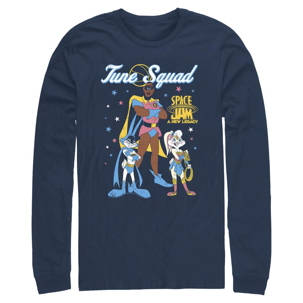 Tune Squad Heroes Mash-Up Long Sleeve Tee from Space Jam: A New Legacy