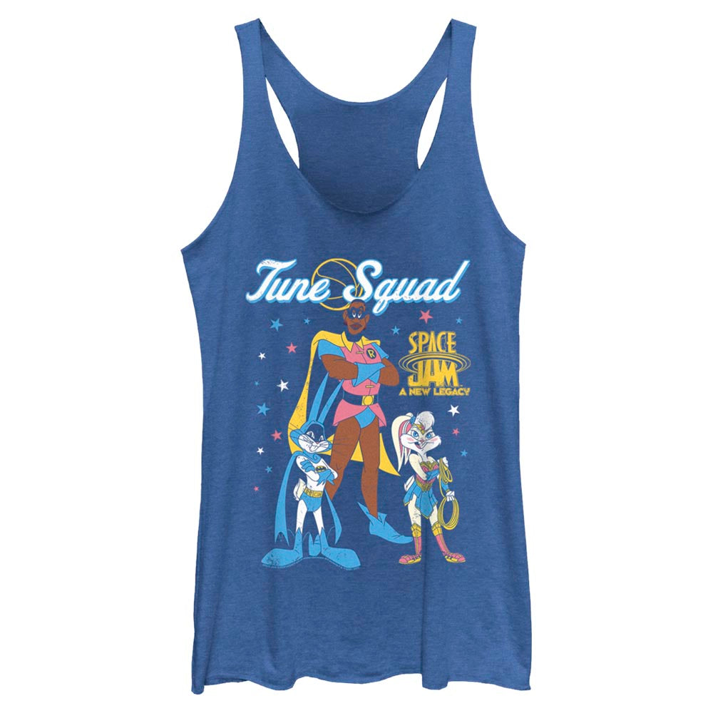 Tune Squad Heroes Mash-Up Women's Racerback Tank from Space Jam: A New Legacy