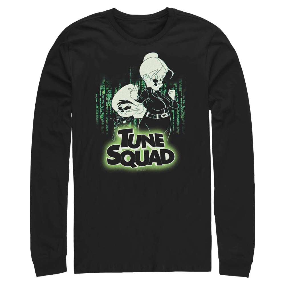 Granny & Speedy Gonzales Mash Tune Squad-Up Long Sleeve Tee from Space Jam: A New Legacy