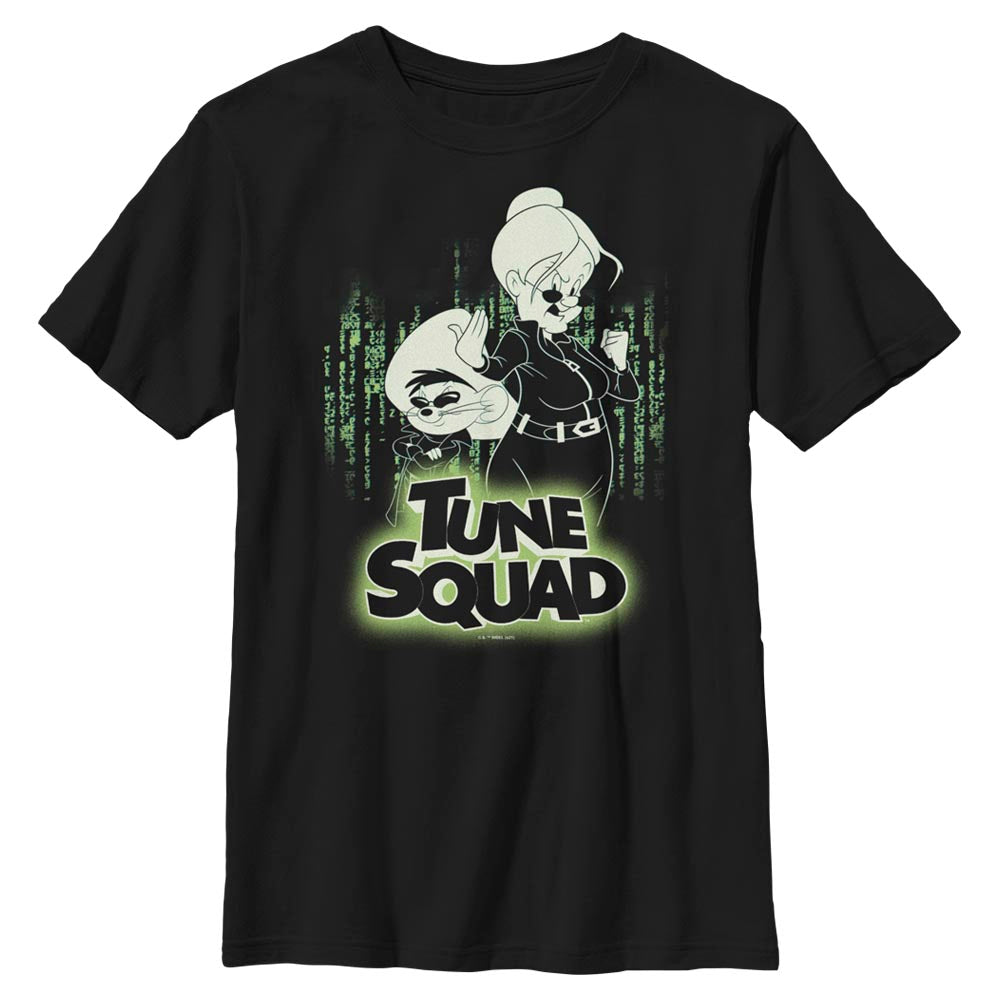 Granny & Speedy Gonzales Tune Squad Mash-Up Kids' T-Shirt from Space Jam: A New Legacy