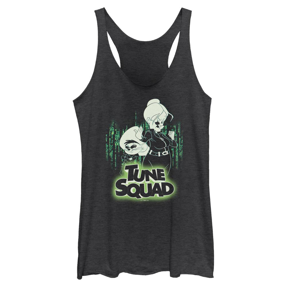 Granny & Speedy Gonzales Tune Squad Mash-Up Women's Racerback Tank from Space Jam: A New Legacy
