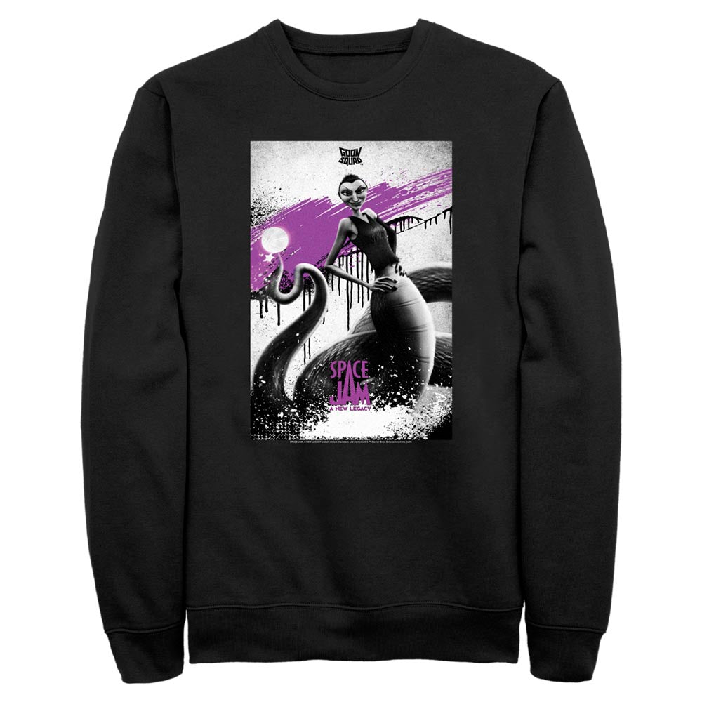White Mamba Poster Goon Squad Crew Sweatshirt from Space Jam: A New Legacy