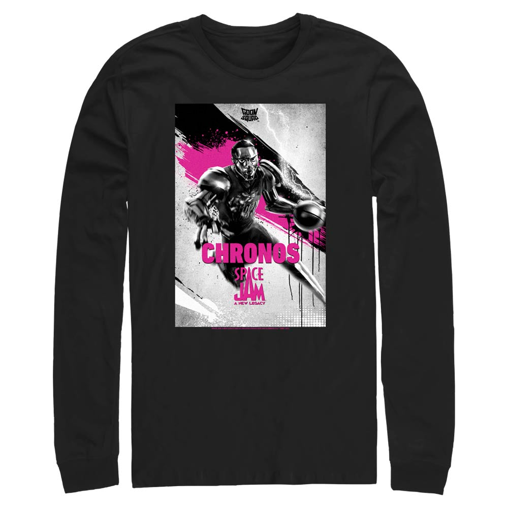 Chronos Poster Goon Squad Long Sleeve Tee from Space Jam: A New Legacy
