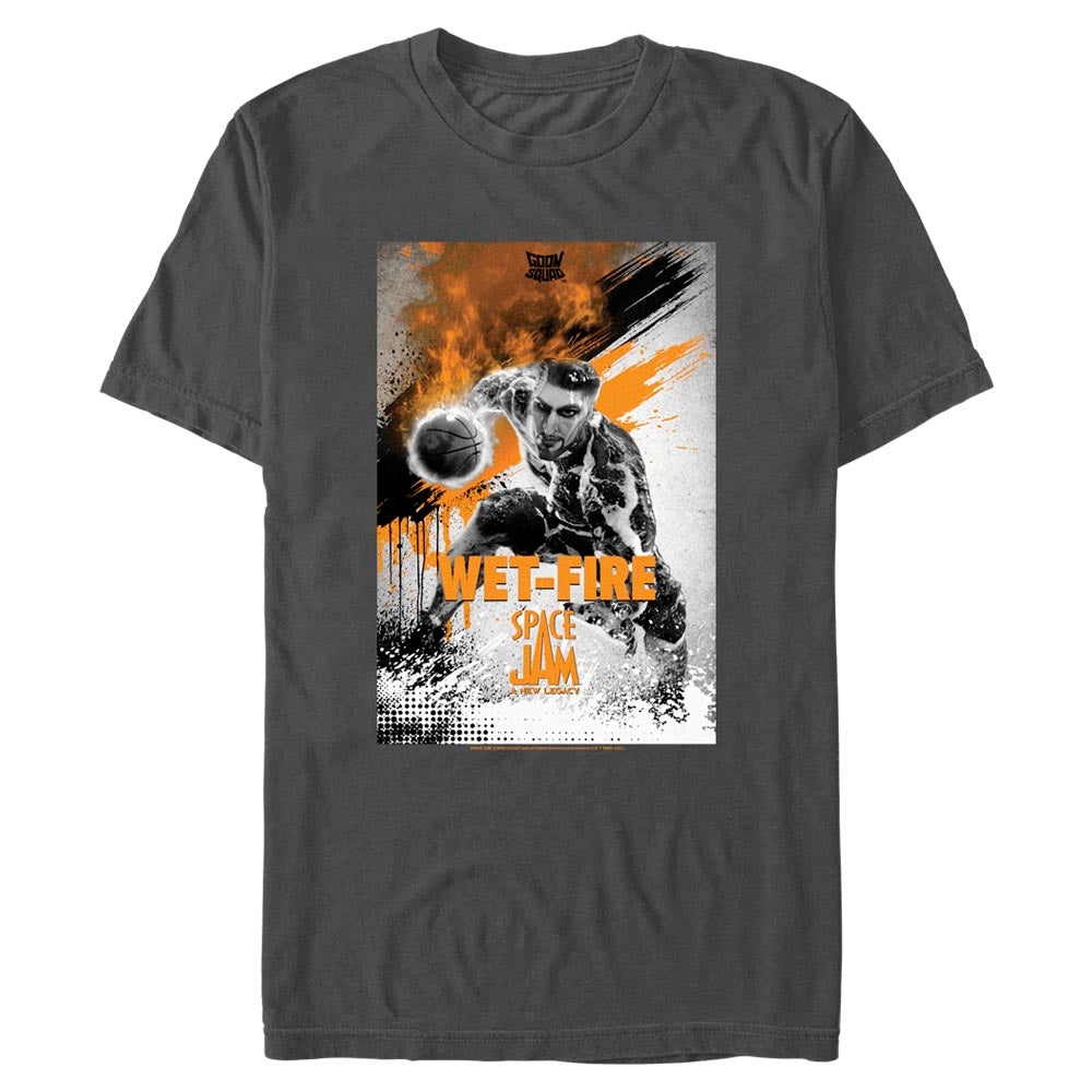 Wet-Fire Poster Goon Squad T-Shirt from Space Jam: A New Legacy