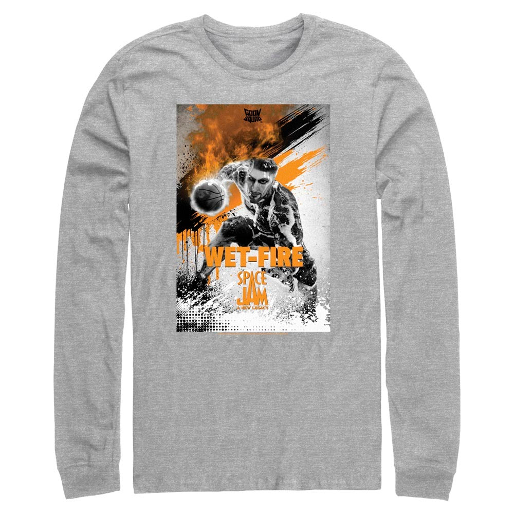 Wet-Fire Poster Goon Squad Long Sleeve Tee from Space Jam: A New Legacy