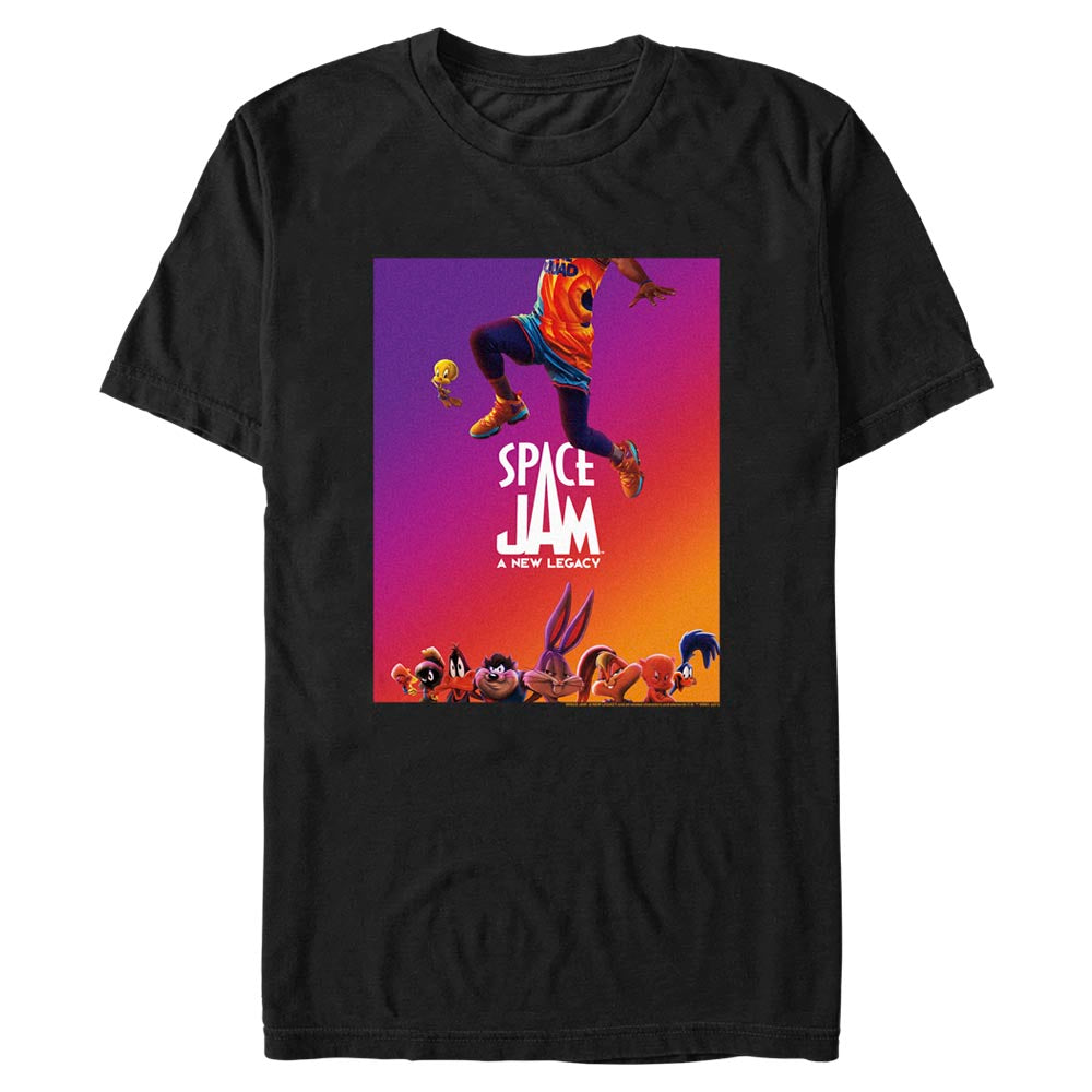 JUMP Poster T-shirt from Space Jam: A New Legacy