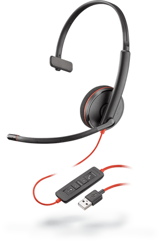 Blackwire C3210 (Monaural - USB)
