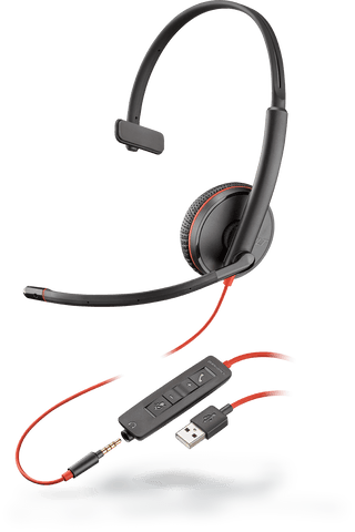 Blackwire C3215 (Monaural - USB & 3.5mm)