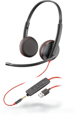 Blackwire C3225 (Binaural - USB & 3.5mm)