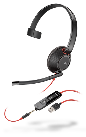 Blackwire C5210 (Monaural - USB)