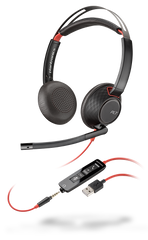Blackwire C5220 (Binaural - USB & 3.5mm)