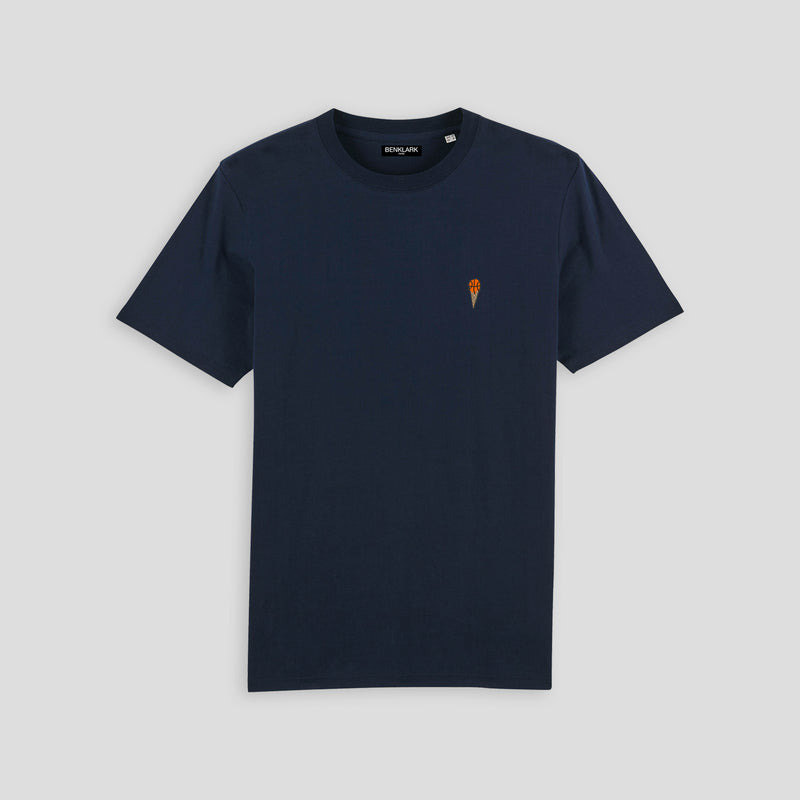 T-SHIRT NAVY ICE BASKETBALL