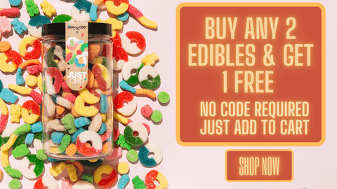 Buy any 2 edibles get 1 free