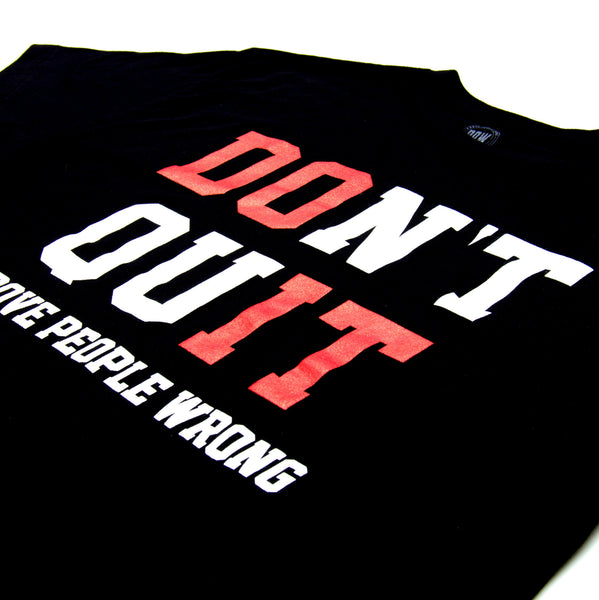 DON'T QUIT MEN'S - BLACK
